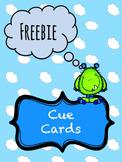 Articulation Cue Cards