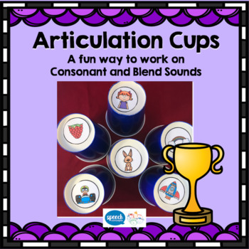 Articulation Cups - Multi-sound Articulation Game