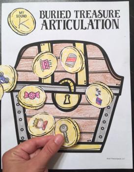 Articulation Cut & Paste BUNDLE #3 Speech Therapy Craft Activities