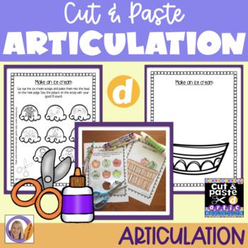 Articulation: Cut & Paste /d/
