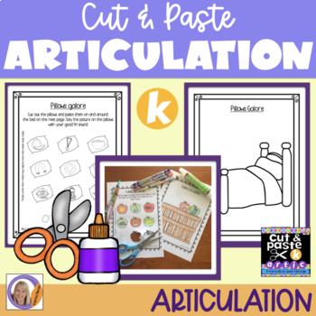 Articulation: Cut & Paste /k/