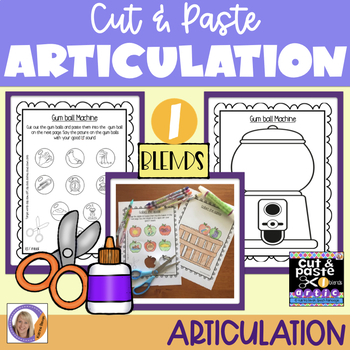 Articulation: Cut & Paste /l/ blends
