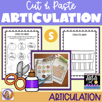 Articulation: Cut & Paste /s/ for speech and language therapy