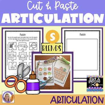 Articulation: Cut & Paste /s/ blends