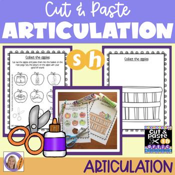 Articulation: Cut & Paste /sh/