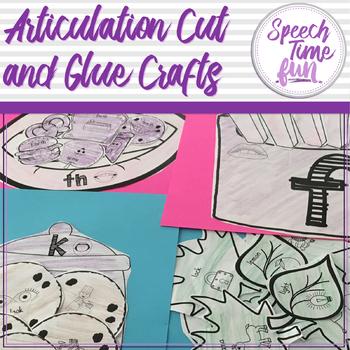 Articulation Cut and Glue Crafts