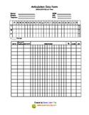 Articulation Data Form 2014-2015 School Year