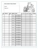 Articulation Data Sheet