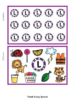 Articulation Decks: Later Developing Sounds - Isolation, Picture, Words, Phrases