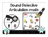 Articulation Detective FREEBIE /P/ & /B/