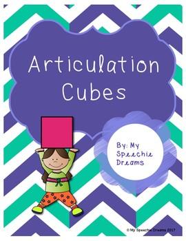 Articulation Dice Cubes