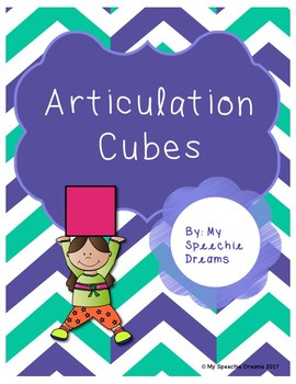 Later Developing Sounds Articulation Dice Cubes