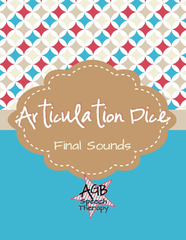Articulation Dice - Final Sounds