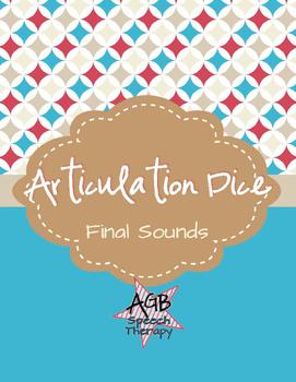 Articulation Dice - Final Sounds