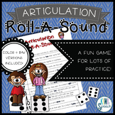 Articulation Roll a Sound: An Articulation Dice Game