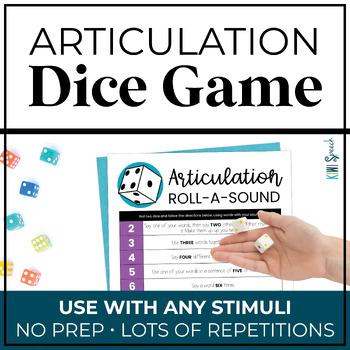 Articulation Roll a Sound: An Articulation Dice Game
