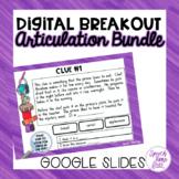 Articulation Digital Escape Bundle - Google Slides
