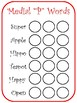 Articulation Do-A-Dot Worksheets