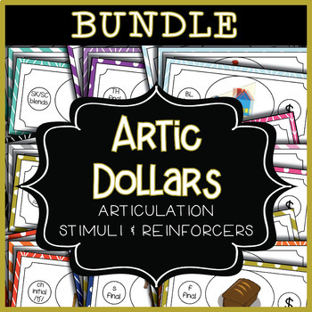 Articulation Dollar Bills - BUNDLE