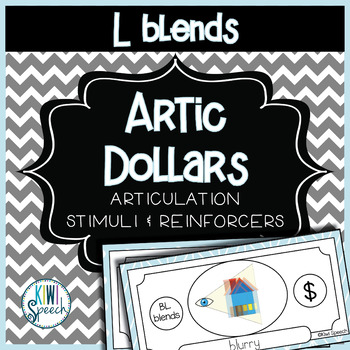 Articulation Dollar Bills - L Blends