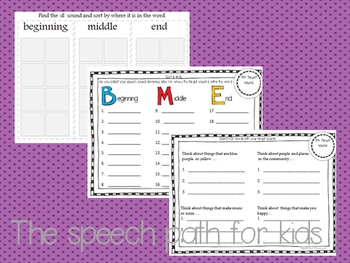 Articulation Dominoes: Early 8 Sounds