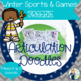 Articulation Doodles:  Winter Sports & Games FREEBIE