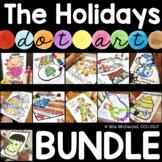 Articulation Dot Art Bundle |  Holidays