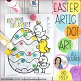 Articulation Dot Art for Easter  |  NO PREP