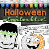 Articulation Dot Art for Halloween | ALL sounds NO Prep