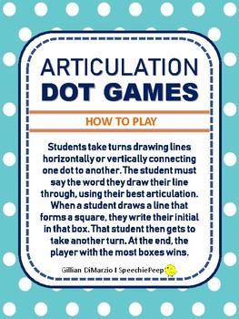 Articulation Dot Games