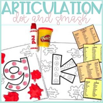 Articulation Activity-Dot and Smash Mats