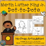 Articulation Dot-to-Dots: Martin Luther King Jr. Day
