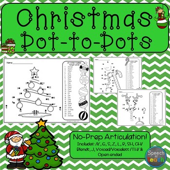 Articulation Dot-to-Dots: Christmas Edition