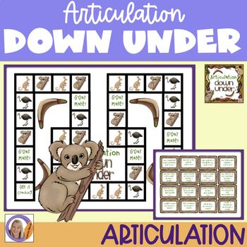 Articulation Game: Articulation Down Under