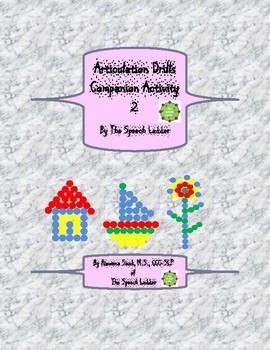 Articulation Drills Companion Activity 2