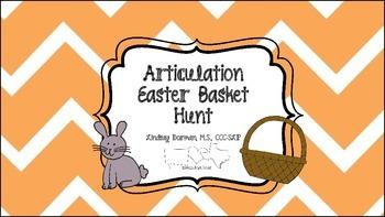 Articulation Easter Basket Hunt