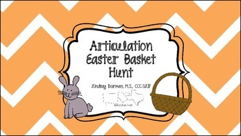 Articulation Easter Basket Hunt