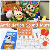 """Articulation """"Elementary"""" - Sounds Mats for Jumping Jack Rabbit Game"""