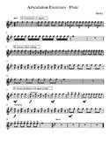 Articulation Exercises - Flute