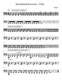 Articulation Exercises - Tuba