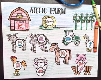 Articulation Farm: A Speech Therapy Craft Activity