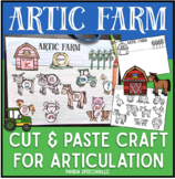 Articulation Farm: A Speech Therapy Craft Activity