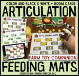 Articulation Feeding Mats for Farm Animals: A Speech Therapy Toy Companion