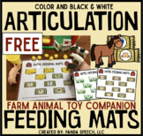 Articulation Feeding Mats for Farm Animals: Initial /f/ To