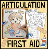 Articulation First Aid: A Speech Therapy Craft Activity