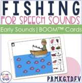Articulation Fishing BOOM Cards™ for Early Sounds | Speech
