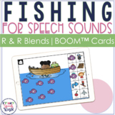 Articulation Fishing BOOM Cards™ for R & R Blends | Speech