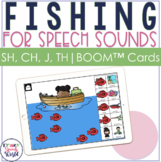 Articulation Fishing BOOM Cards™ for SH, TH, CH, J | Speec