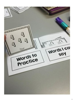 Articulation Flashcard Books FREE Template