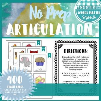 Articulation Flashcards